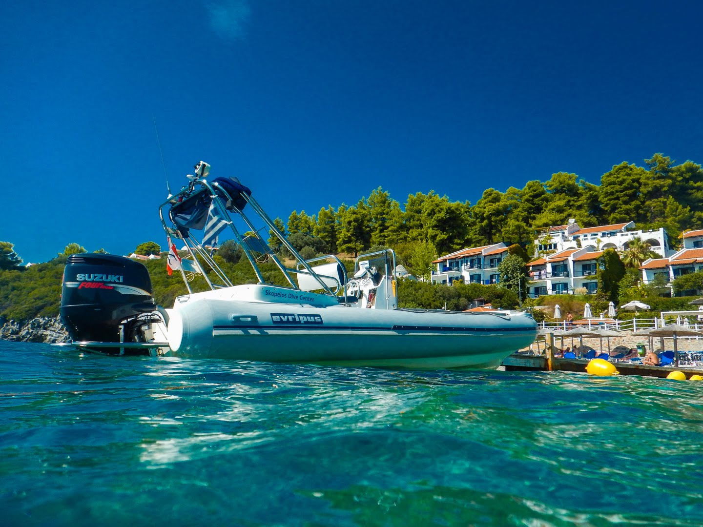 skopelos hotels adrina hotels dive center