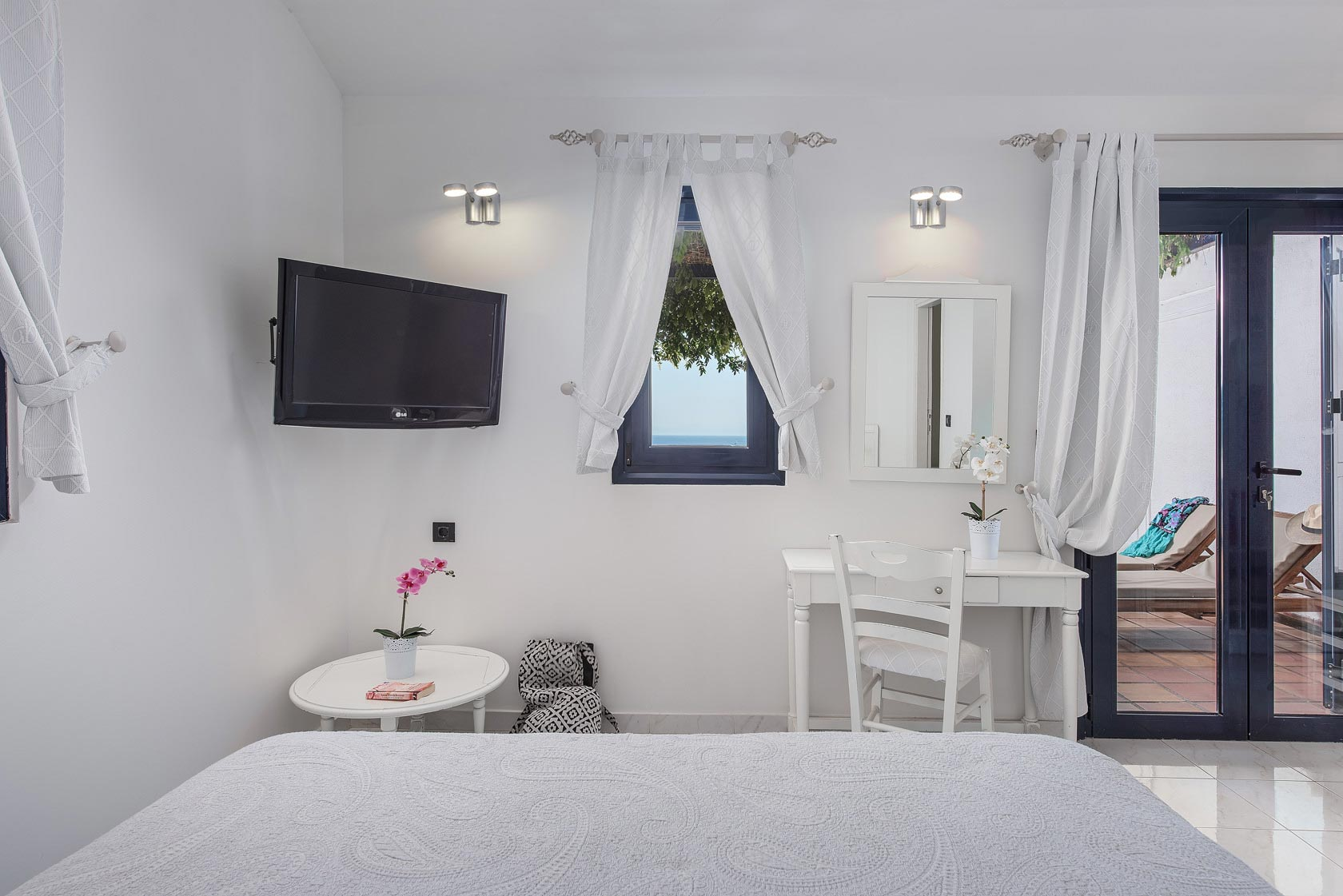 Skopelos Hotels Panoramic Full Sea View Quadruple Room